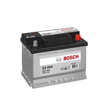 Автомобильный аккумулятор Bosch S3 004 553 400 047 (53 А/ч)