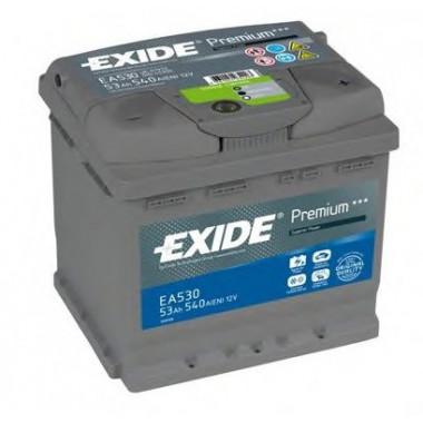 Автомобильный аккумулятор Exide Premium EA530 (53 А/ч)