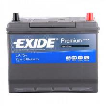 Автомобильный аккумулятор Exide Premium EA754 (75 А/ч)