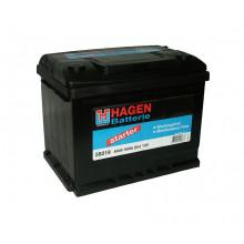 Автомобильный аккумулятор Hagen 56019 (60 А/ч)