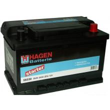 Автомобильный аккумулятор Hagen 56530 (65 А/ч)