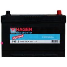 Автомобильный аккумулятор Hagen 59518 (95 А/ч)