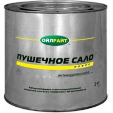 OIL RIGHT Пушечное сало 2кг железное ведро