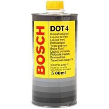 Тормозная жидкость Bosch DOT4 0.5л