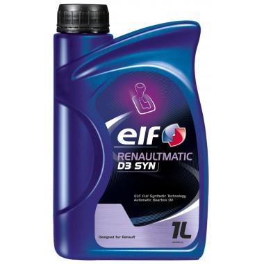 Трансмиссионное масло Elf Renaultmatic D3 SYN 1л