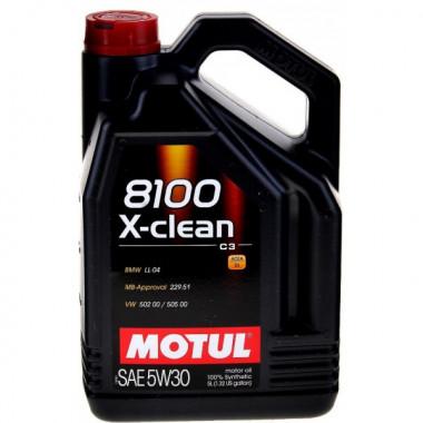 Моторное масло Motul 8100 X-clean 5W-30 5л