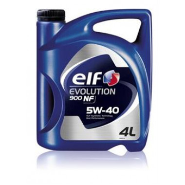 Моторное масло ELF 5W40 EVOLUTION 900 NF 4л