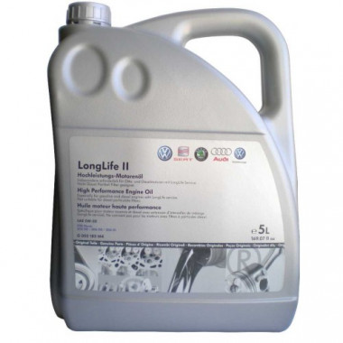 Моторное масло VAG Longlife II SAE 0W-30 5л