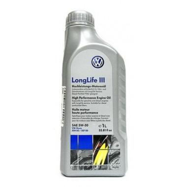 Моторное масло VAG Longlife III SAE 5W-30 1л