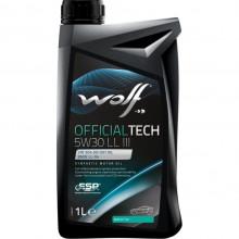 Моторное масло Wolf Officialtech 5W30 LL III 1l