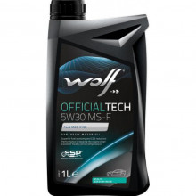 Моторное масло Wolf Official Tech 5W-30 MS-F 1л