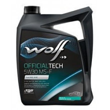 Моторное масло Wolf Official Tech 5W-30 MS-F 4л