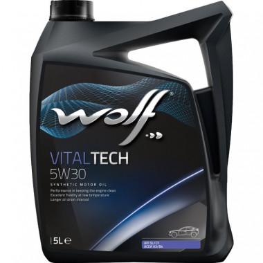 Моторное масло Wolf Vital Tech 5W-30 4л