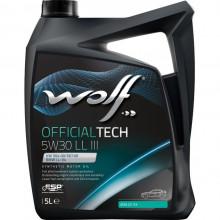 Моторное масло Wolf Officialtech 5W30 LL III 4l