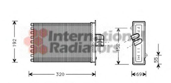 Купить теплообменник для охлаждения масла для крайслер вояджер в минске DH2-402
